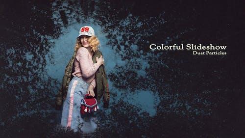 Colorful Slideshow - Dust Particles