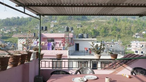 Nepalese City Besisahar