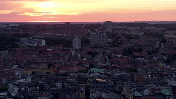 Drone Over Aarhus