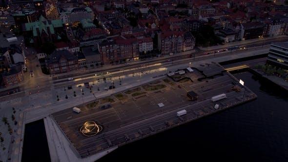 Waterfront of Aarhus