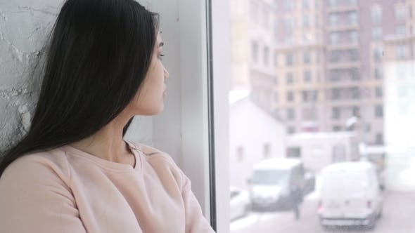 Thumbnail for Asian Woman Waiting and Watching Time