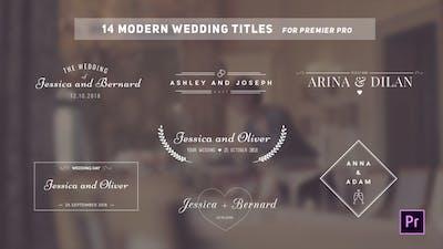 Wedding Titles
