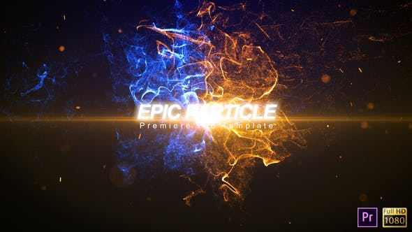 Thumbnail for Epic Particle Reveal - Premiere Pro