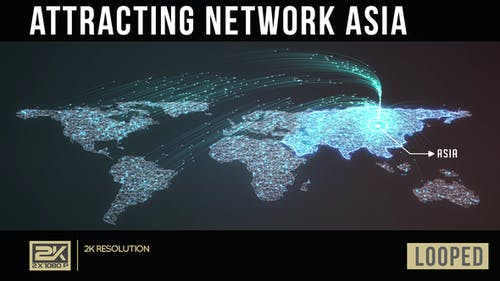 Attracting Network Asia