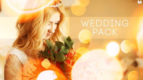 Thumbnail for Wedding Titles Slideshow Light Leaks