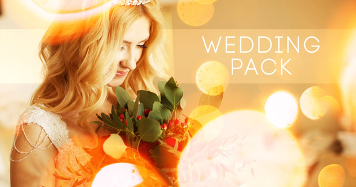 Download Wedding Titles Slideshow Light Leaks by MJake