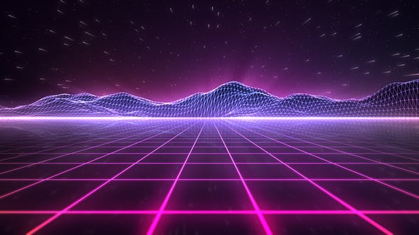 Thumbnail for 80s Retro Background 01