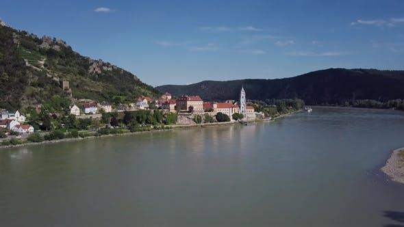 Thumbnail for Aerial of Durnstein Wachau Valley Austria