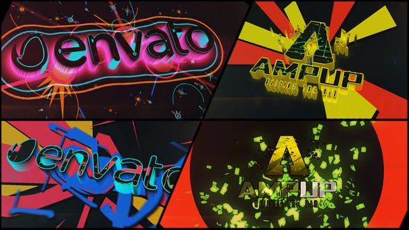 Thumbnail for Colorful Dubstep Projection Logo