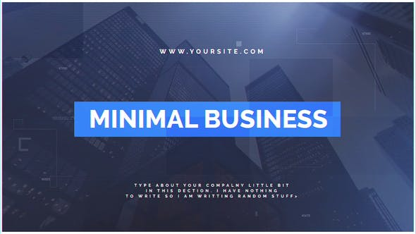 Thumbnail for Minimal Business