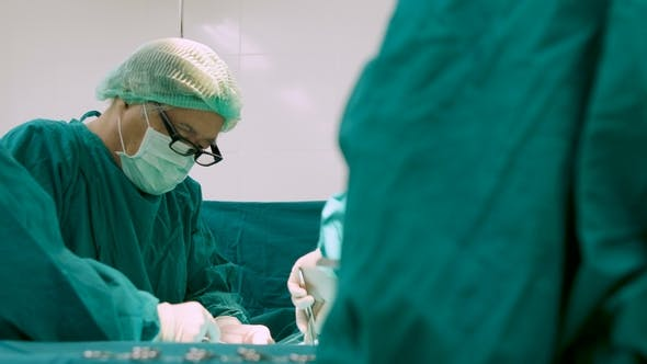 Thumbnail for Team of Surgeons in Operating Theater