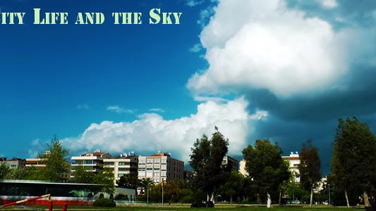 Thumbnail for City Life And The Sky Timelapse