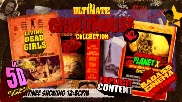 Thumbnail for The Ultimate Grindhouse Collection V2
