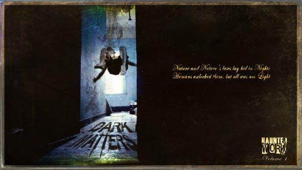 DARK MATTERS: HauntedWorx Collection V1