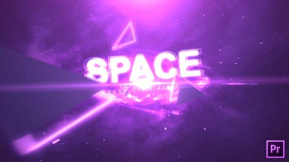 Thumbnail for Texte de l'espace | Premiere Pro