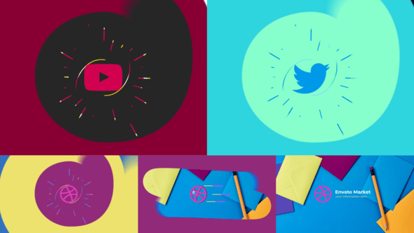 Thumbnail for Flat Minimal Logo Reveal
