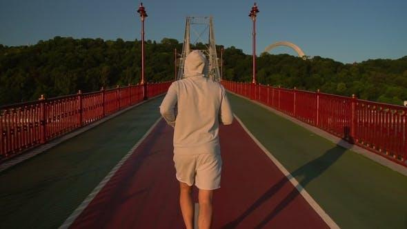 Thumbnail for City Runner Having Intensive Training