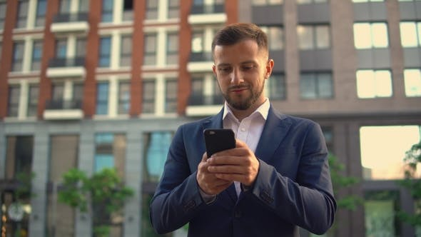 Thumbnail for Man Received Good News on His Smartphone