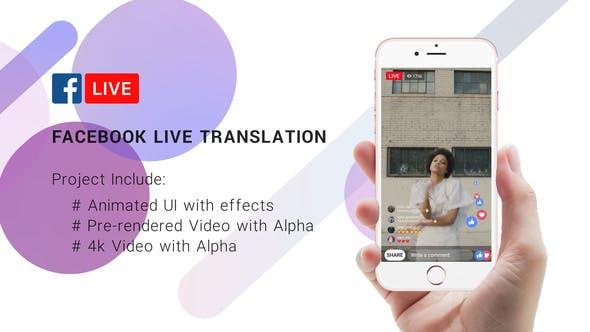 FaceBook Live Translation Stream