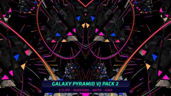 Thumbnail for Galaxy Pyramid VJ Pack 2 (3 in 1)