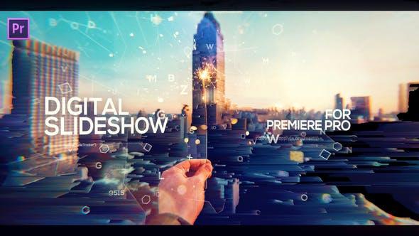 Thumbnail for Digital Slideshow Opener for Premiere Pro