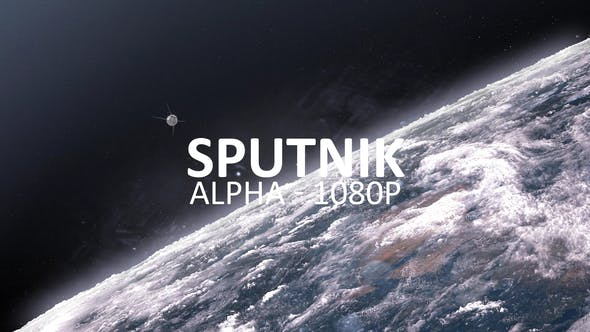 Thumbnail for Sputnik-1 Orbiting Earth