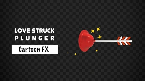 Thumbnail for Cartoon Love Struck Plunger FX