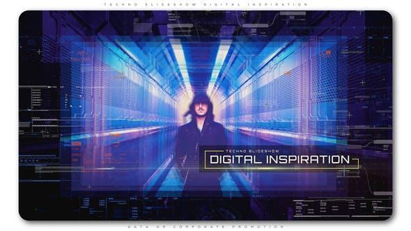 Cover Image for Techno Slideshow Digital Inspiration