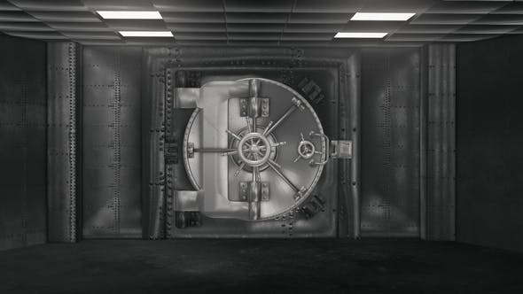 Thumbnail for Bank Vault And Opening Safe