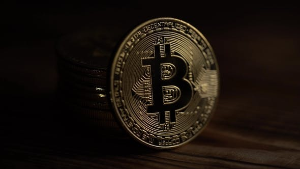 Thumbnail for Silver Bitcoins Digital Coin Btc Money Crypto Currency