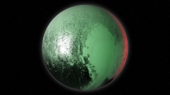 Thumbnail for Planet Pluto on the Background of the Stars