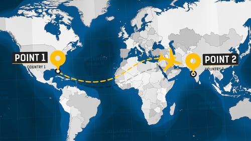 Travel Map - Promo Kit