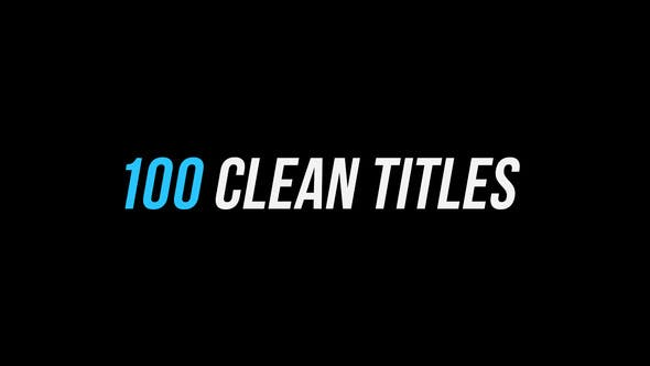 Thumbnail for 100 Clean Titles