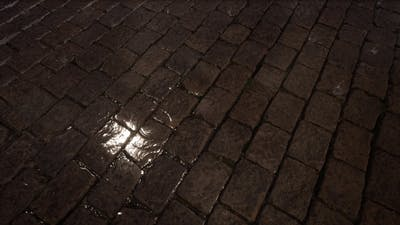 Street and Rain
