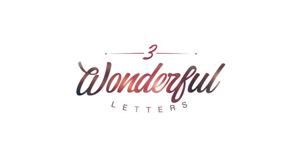 Thumbnail for Wonderful Letters 3