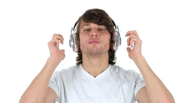 Listening Music and Dancing, Headphone