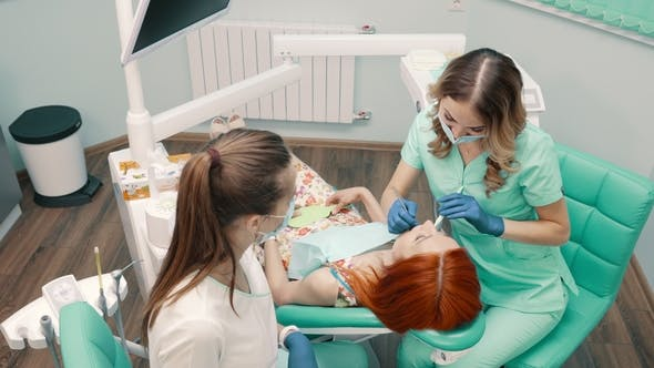 Thumbnail for Woman Dentist Takes Patient To Dental Clinic