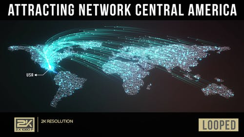 Attracting Network Central America