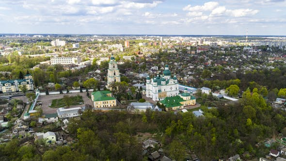 Thumbnail for The Cityscape From a Bird's Eye View of the City of Chernigov