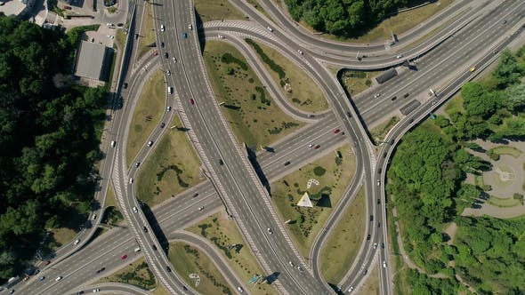 Thumbnail for View of a Turbine Road Interchange in Kiev
