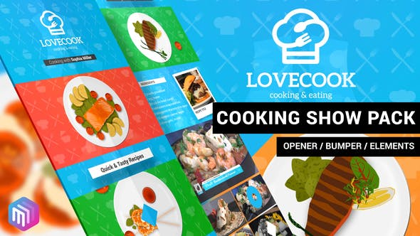Thumbnail for Love Cook - Cooking Show Pack