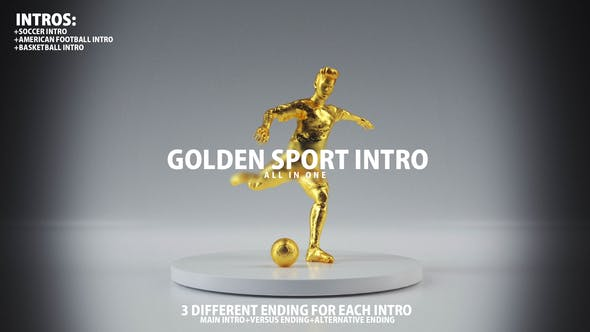 Thumbnail for Golden Sport Intro