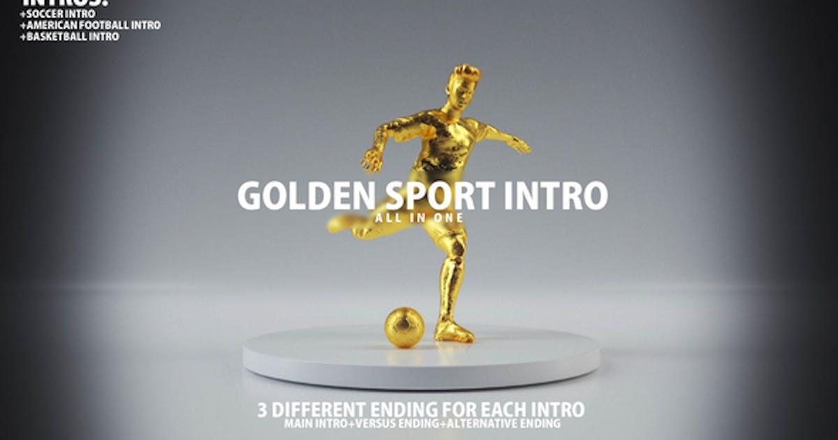 Download Golden Sport Intro by Videostones