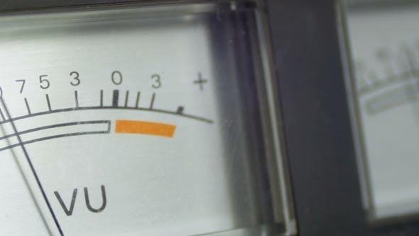 Dial Indicator Gauge Signal Level Meter