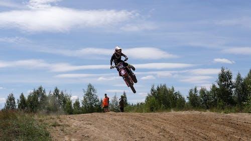 June 10, 2018 Russian Federation, Bryansk Region, Ivot - Extreme Sports, Cross Motocross