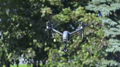 Drone Transformation To Landing Mode and Lands