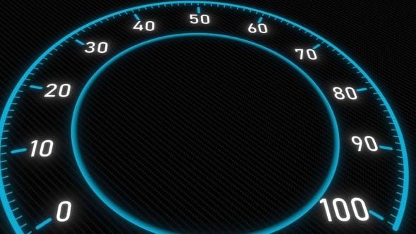 Thumbnail for Futuristic Meter or Indicator