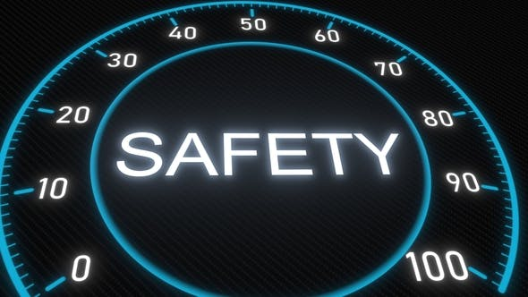 Thumbnail for Safety Futuristic Meter or Indicator