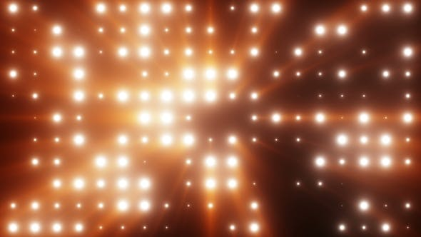 Thumbnail for Bright Flash of LED Lights with Rays of Light