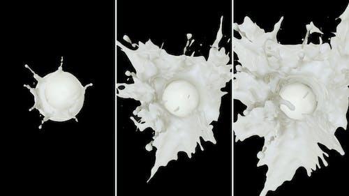 Milk Drop Splash
